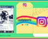 Kit imprimible Candy cumple Instagram