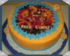 Torta decorada Dragon Ball Z