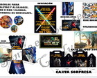 Kit imprimible Candy cumple Star Wars