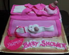Torta Baby Shower - Bolso