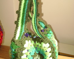 CARTERA VINTAGE CROCHET COLORIDA