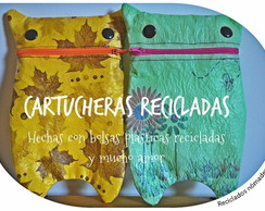 Cartucheras recicladasc