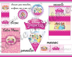 Kit Candy cumple Princesas Disney