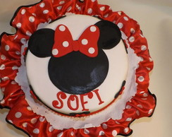 Torta decorada Minnie
