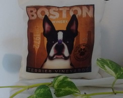 Almohad�n Mini - Perrito Boston