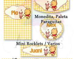Kit Pre-Armado Candy Bar Winnie Po