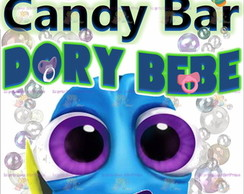 Kit Imprimible 2x1 Dory Bebe Y Candy Bar