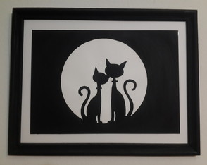 love-cats-night-cuadro-decorativo