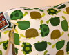 Wet Bag or Eco-Bag with Snap Handle - Waterproof - Urban Zoologie Collection - Turtles
