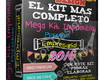 Kit Imprimible Empresarial Oro + Candy B