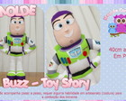 Moldes Buzz - Toy Story