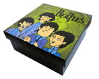 Caja Decorativa The Beatles Caricaturas