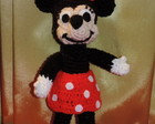muñeco a crochet - Minnie Mouse