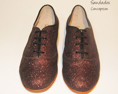 Zapatos Oxford Guayata Glitter
