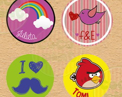 Pack de stickers personalizados