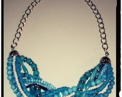 "Collar gargantilla ""Multimat"""