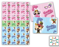 Stickers Candy Bar