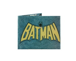 Billetera De Papel Tyvek Batman