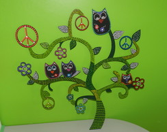 APLIQUE ARBOL DECORADO