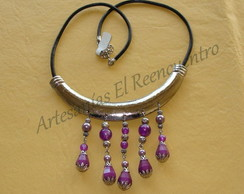 Collar filigrana simple