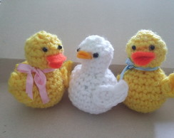 Patitos crochet