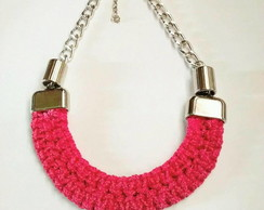 COLLAR PECHERA MACRAME