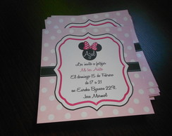 INVITACIONES MINNIE