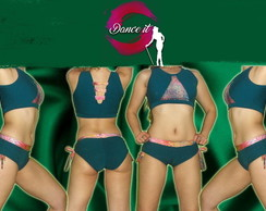 Conjunto de short y top para Pole Dance