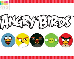 Kit Imprimible Personalizado Angry Birds