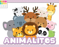 Kit Imprimible Personalizado Animalitos