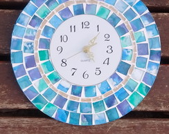Reloj de pared mosaiquismo