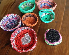 7 Canastitos al crochet eco friendly