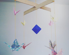 Movil origami en cruz