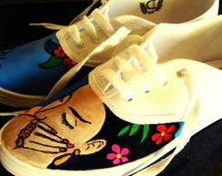 "Zapatillas ""Tributo a Frida"""