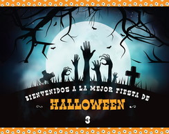 Kit Imprimible Personalizado Halloween 3
