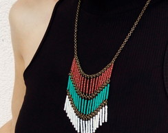 Collar de mostacillas