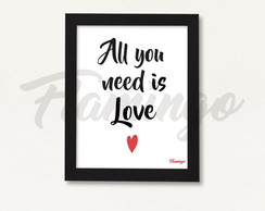 Cuadro All You Need is Love