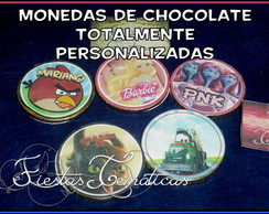 Monedas Chocolate Personalizadas