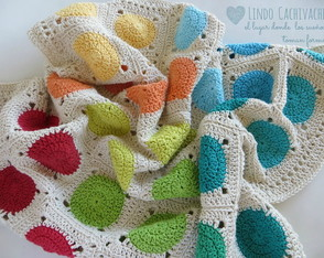 manta-bebe-de-hilo-crochet-color