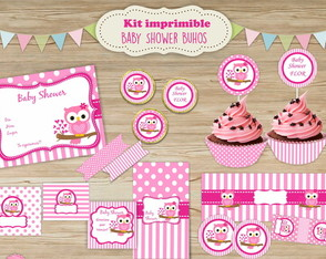 kit-imprimible-baby-shower-nena-buho-kit-imprimible-baby-shower-nena-buho