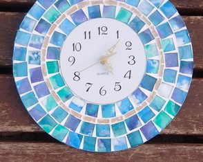 reloj-de-pared-mosaiquismo-arte
