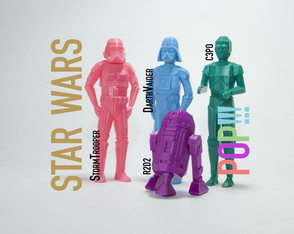 Figuras Star Wars estilo POP