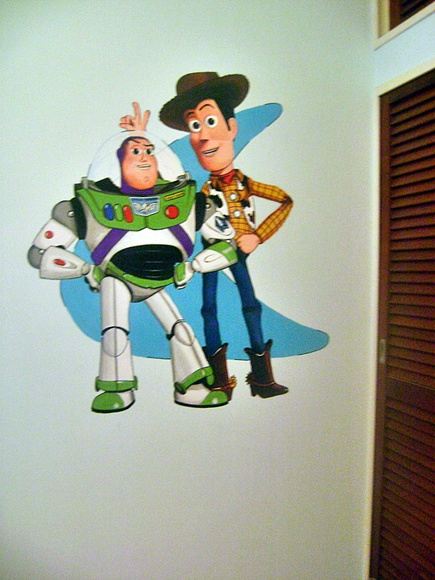 Murales Toy Story