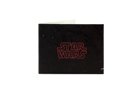 Billetera De Papel Tyvek Star Wars Dark