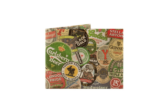 Billetera De Papel Tyvek Beers