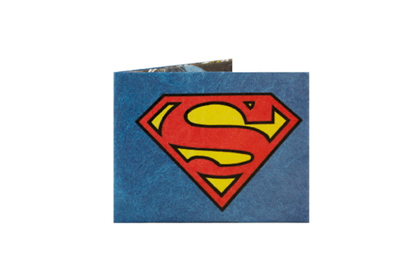 Billetera De Papel Tyvek Superman