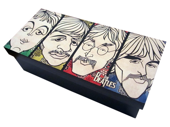 Caja de té The Beatles