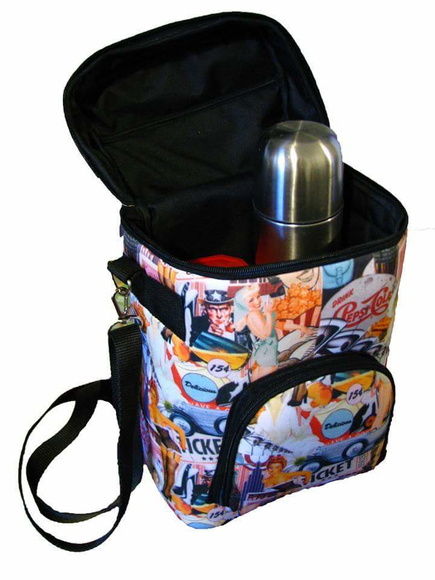 Bolso Matero simil neoprene sublimado