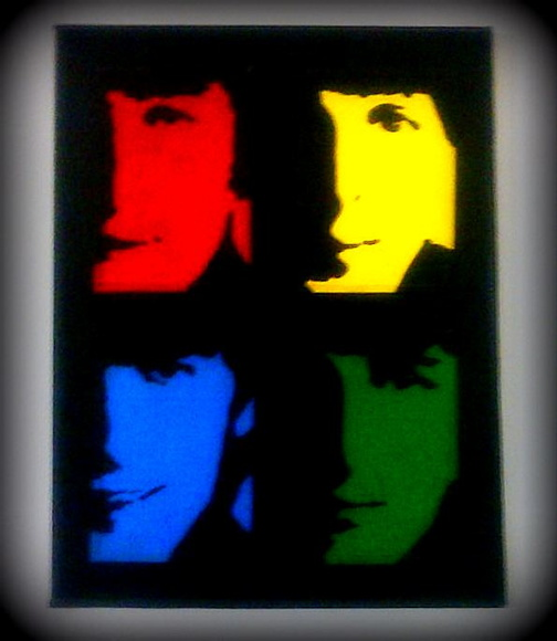 Cuadros!!!.. The Beatles!!..