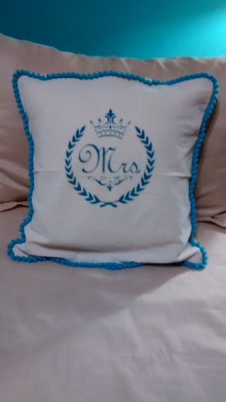 Fundas de almohadon decorados